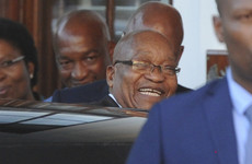 South African chief Jacob Zuma looks to finally be on the way out of office after nine years