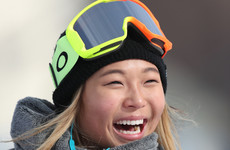 'Gimme ice cream!' says US teen after halfpipe masterclass