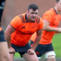 Kilcoyne set for Munster minutes in bid to break back into Schmidt's plans