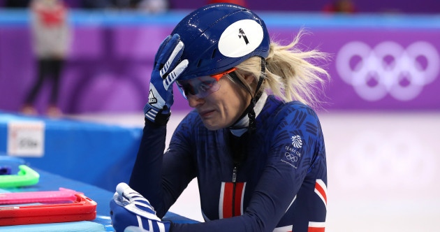 Heartbreak as GB star Elise Christie crashes out in dramatic speed skating final