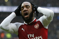 Blow for Lacazette as Arsenal striker undergoes knee surgery