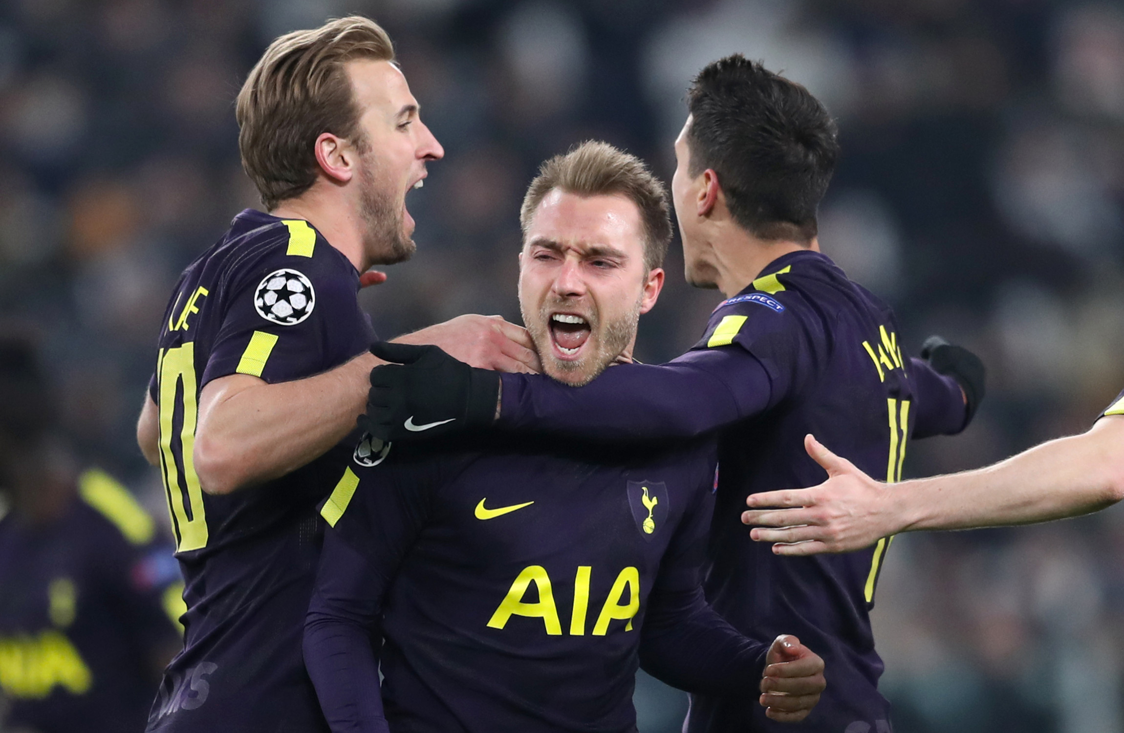 Harry Kane makes Champions League history with ninth career goal