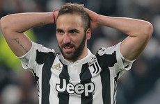 Higuaín slams 'armchair' fans after Tottenham draw