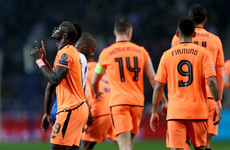 Mane hat-trick moves Liverpool towards Champions League quarters