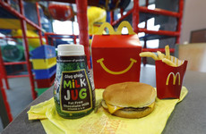 McDonald's US to cut chocolate milk and cheeseburgers from Happy Meal menu