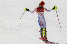 The biggest favourite at the 2018 Winter Olympics failed to defend her title