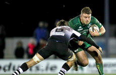 Disappointment for hosts Connacht as they fall to second defeat of season to Zebre