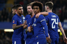 Ireland international Meyler misses penalty as Chelsea reach FA Cup quarter-finals