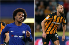 "'I told him: ""you're going to miss""' - Willian says he psyched out Ireland's David Meyler last night"
