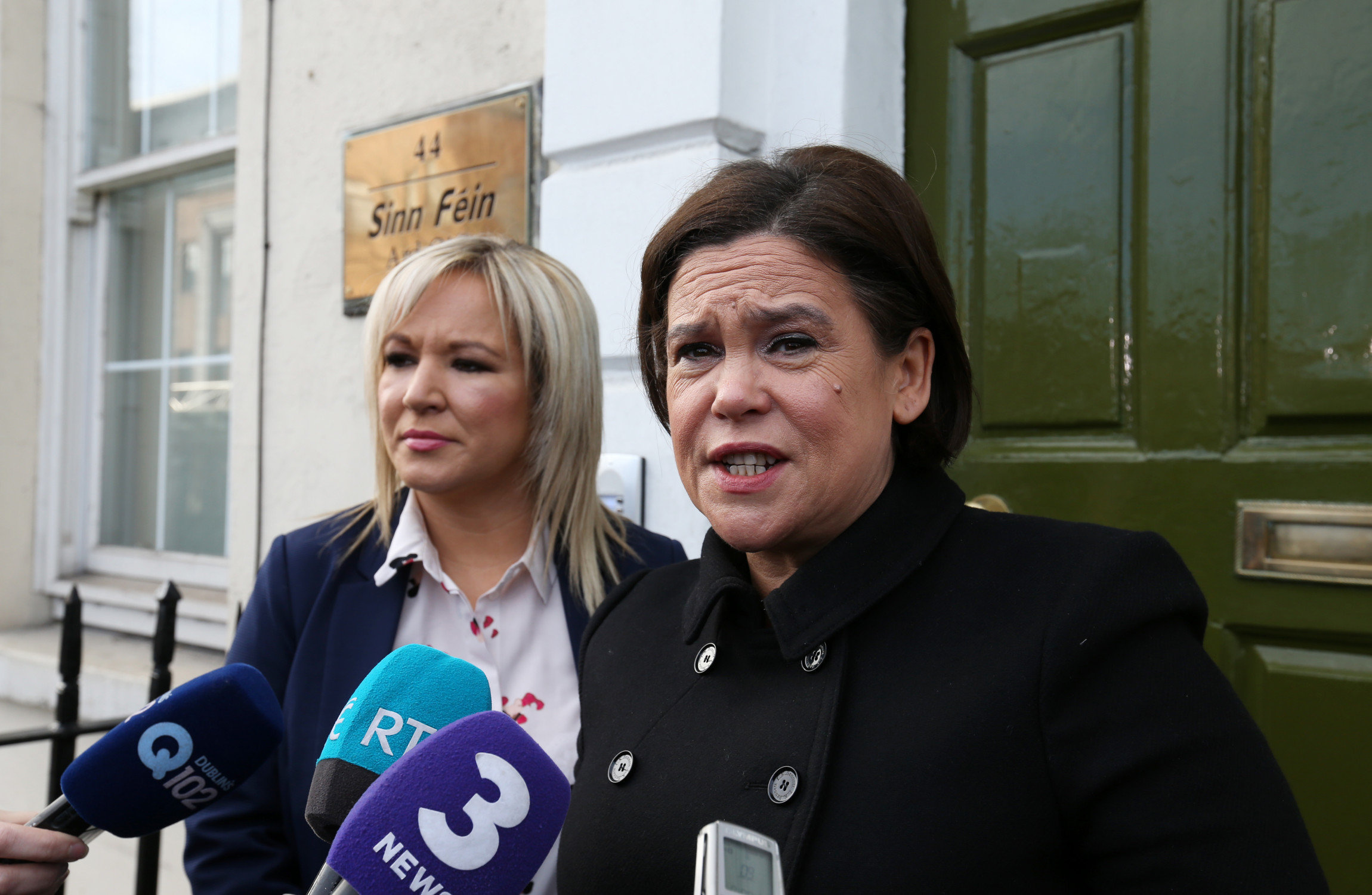 SF leaders to meet Varadkar after talks collapse