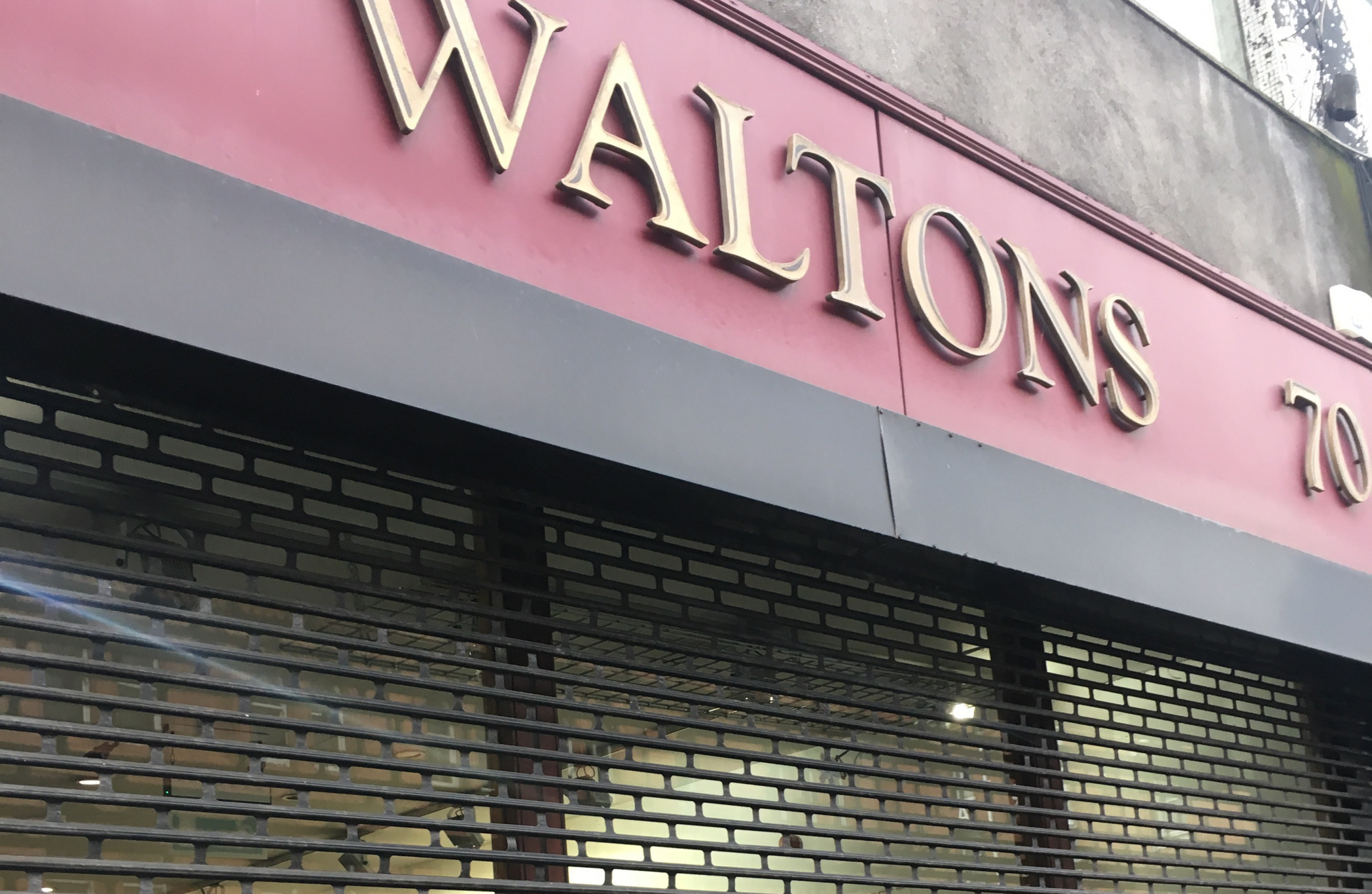 Legendary music shop, Waltons is closing down its iconic building