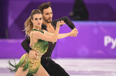Tearful French skater's 'worst nightmare' after dress mishap