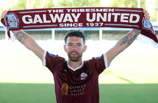 After over 100 career goals, Irish striker returns from New Zealand to join Galway United