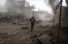Ten more civilians killed in airstrikes on rebel-held Syrian enclave