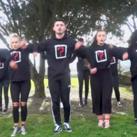 A Dublin dance troupe has paid tribute to the victims of the Florida school shooting