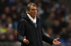 Mea culpa! Mancini takes the blame for Europa exit
