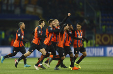 Stunning Fred free-kick sees Shakhtar stage second-half comeback against Roma
