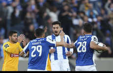 Porto complete win - five weeks after first half