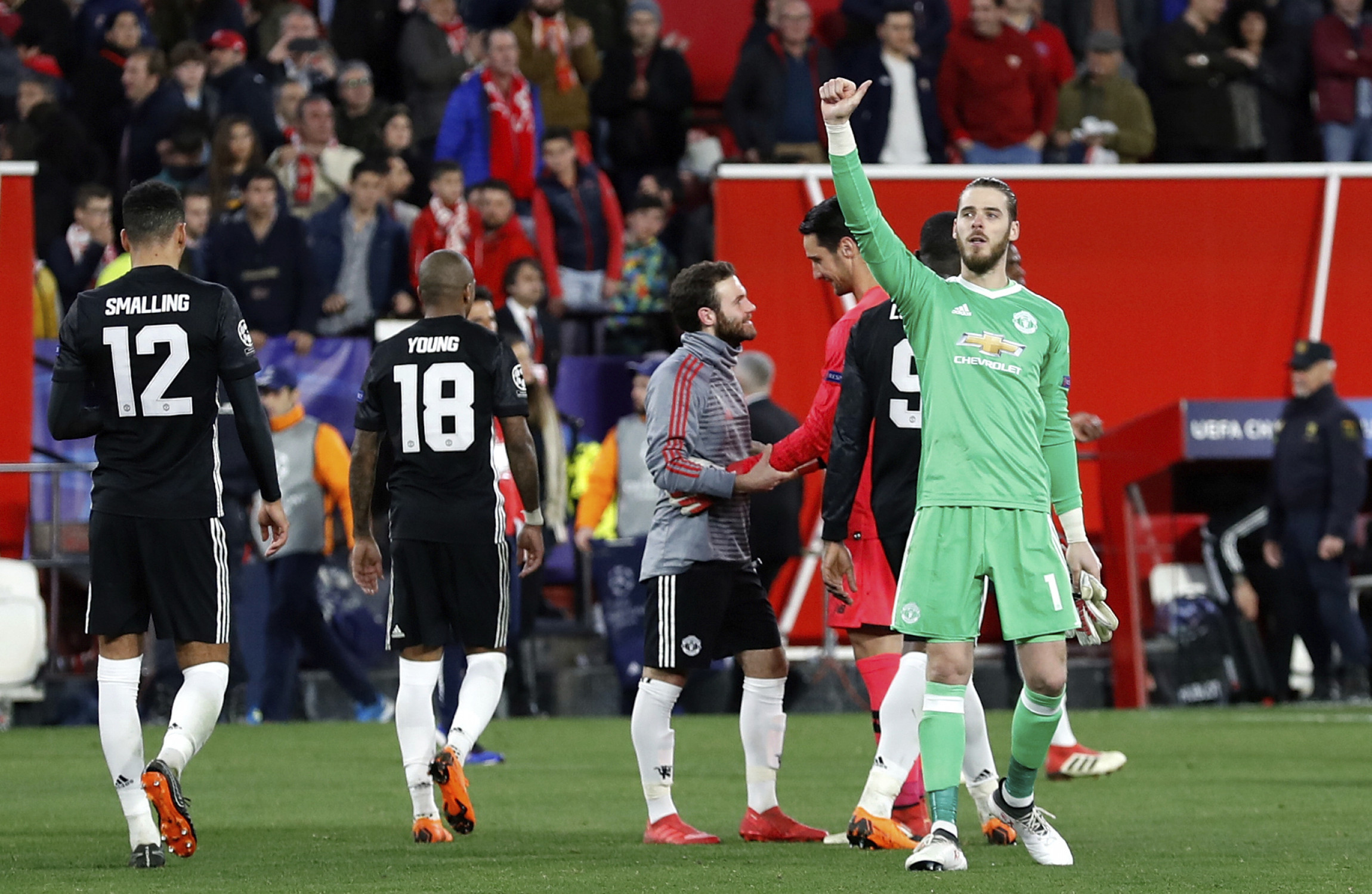 Man U's De Gea happy with `important` save post Sevilla draw