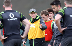 Impossible to replace 'world class players' but Schmidt excited to test Ireland's depth