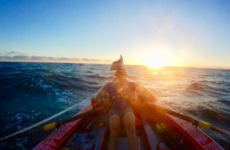 Damian Browne on the capsizes, calm, blood and tears of his epic solo row across the Atlantic