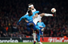 Arsenal fall to humiliating home defeat but progress in Europa League