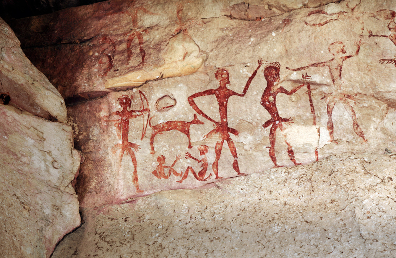 Early Man Cave Art : Study reveals earliest cave art belonged to neanderthals
