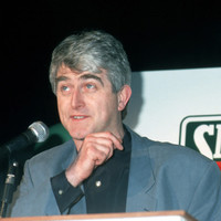 Before Ted: What was it like to work with Dermot Morgan?