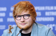 It looks like Ed Sheeran has his sights set on a career in film
