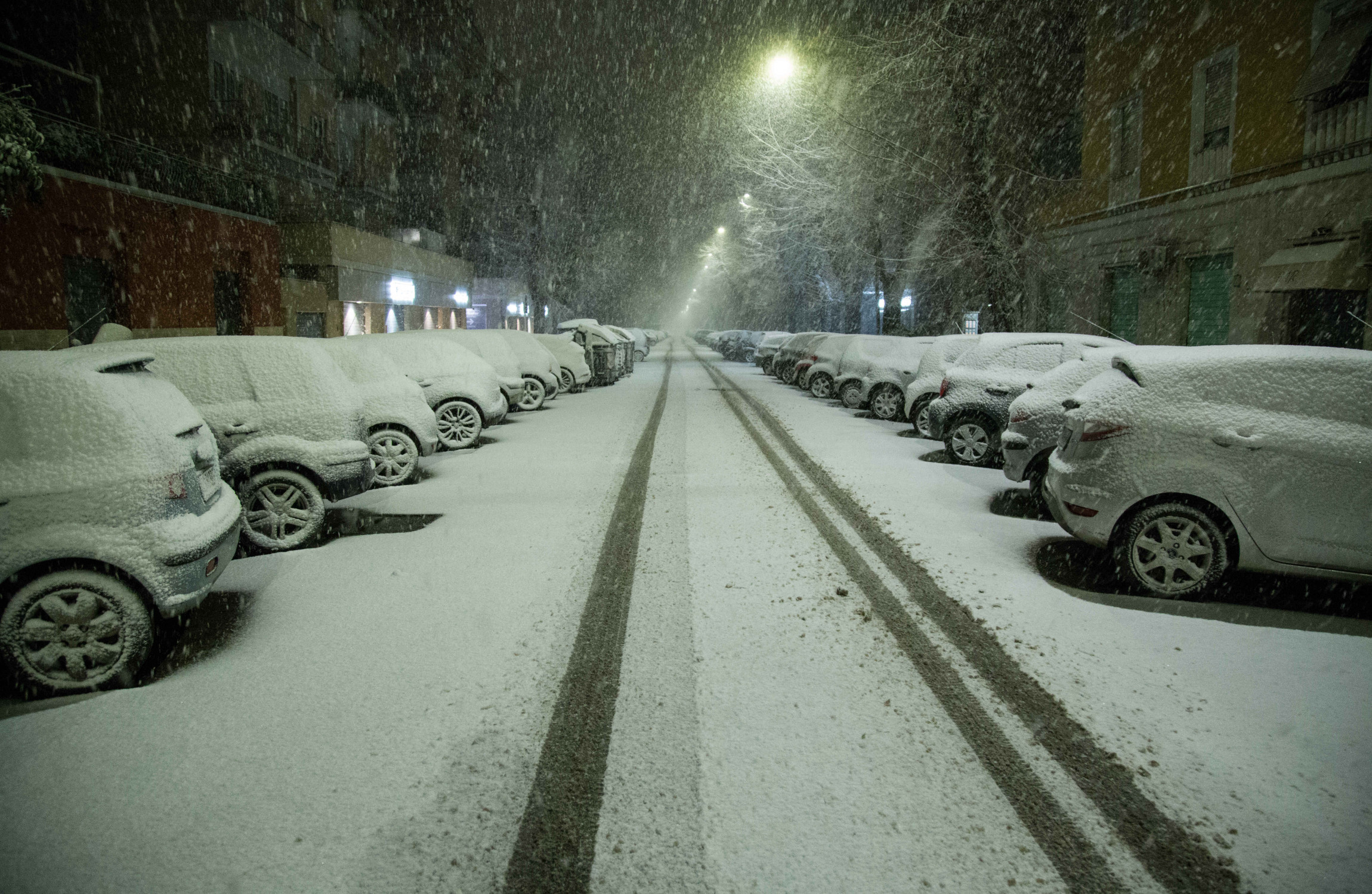 'Beast from the East': Europe shivers as Siberian blast send temperature crashing