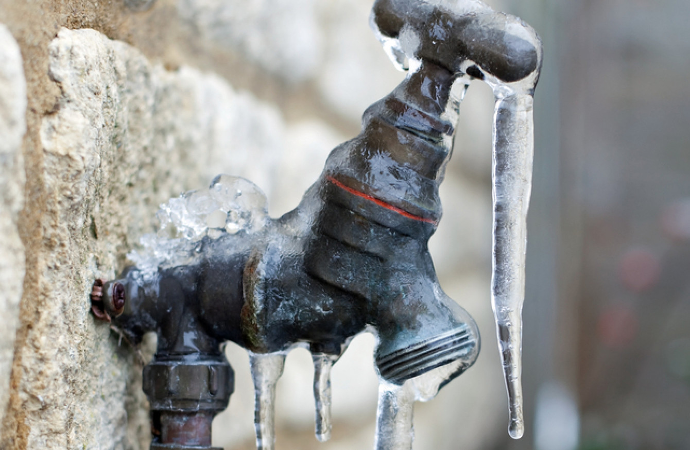 Householders warned NOT to leave their taps running during the ...
