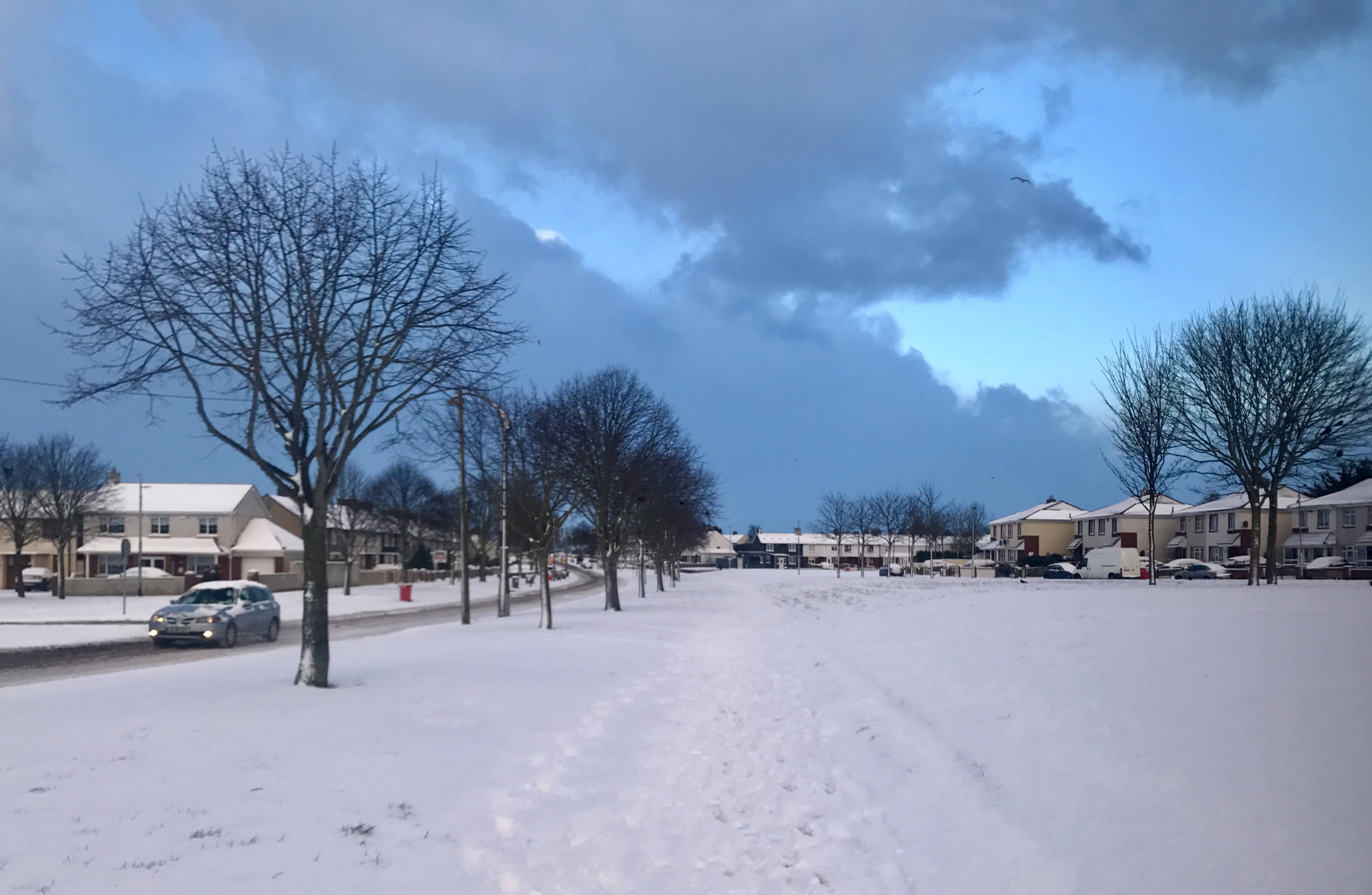 Status Red weather alert for 5 counties as 'snow beast' descends