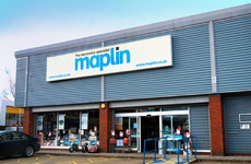 Irish branches of Maplin risk closure as electronics chain goes into administration