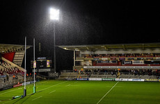 Adverse weather hits Pro14 schedule as Ulster's clash with Glasgow called off