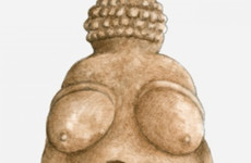 Prehistoric naked figurine censored by Facebook