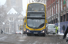 No buses and a Luas every half hour - here's how transport is affected by the snow