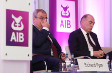 AIB is lining up hefty share bonuses for senior staff to stop them leaving