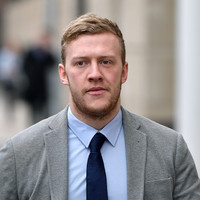 """Rape trial: Police could not locate Stuart Olding's clothes as he """"was not told his house was being searched"""""""