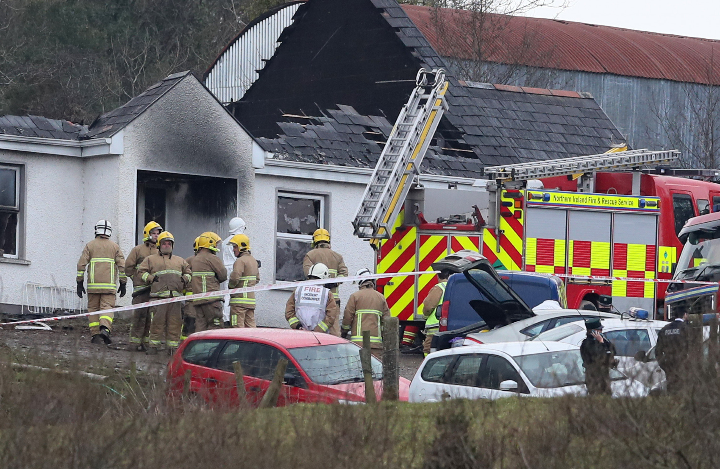 Man arrested following this morning's fatal house fire in Fermanagh