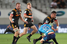 Gatland try can't stop Chiefs edging hard-hitting clash with Blues