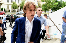 Real Madrid star Luka Modric charged with giving false testimony in court