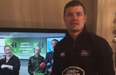 Amy Huberman shared a gas video of Brian O'Driscoll miming along to Leo Varadkar