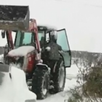 This Kilkenny mammy took a tractor to work during Storm Emma and now she's going global