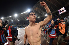 Dramatic 93rd-minute Dybala winner keeps pressure on table-toppers Napoli