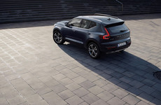 Volvo's new XC40 features a big first: a three-cylinder engine
