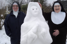 Everyone else give up now, these nuns in Galway have made the best Snow Sister