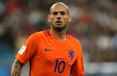 Dutch record caps holder Sneijder retires from international football