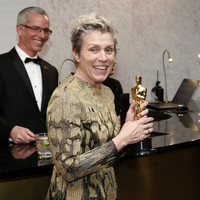 There was panic at the Oscars last night after Frances McDormand's award was temporarily stolen