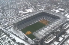 How Croke Park stayed green while the rest of the country was covered in a blanket of snow