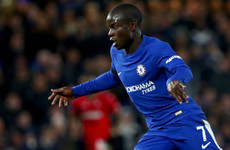 N'Golo Kante fainted at Chelsea training ground ahead of Man City clash